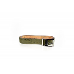 REVERSIBLE BELT olive green